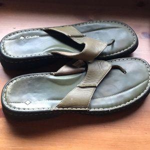 Columbia Leather Sandals